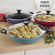 riverbend speckled belly 4 qt  everything pan by paula deen with rebate offer