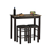 3-Piece Barstool and Table Set