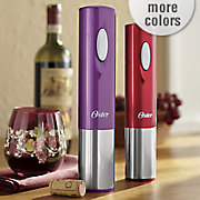 cordless electric wine opener by oster