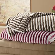 chevron plush blanket 58
