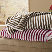 chevron plush blanket 58