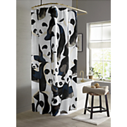 Pandamonium Shower Curtain