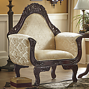 florencia hand carved chair