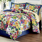 Azalea Comforter Set, Window Treatments and Pillow