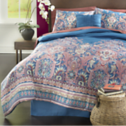 Jaipur Comforter Set, Decorative Pillow and Window Treatments