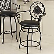 circle design swivel stool