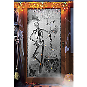 lighted halloween window panel