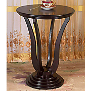 Round Swirl Side Table