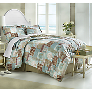 Breeze Comforter Set, Decorative Pillow and Window Treatments