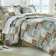 breeze comforter set  decorative pillow and window treatments