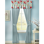 imperial floral window treatments