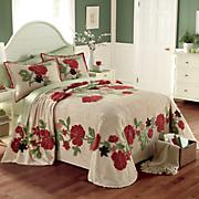 Lila Chenille Bedspread and Sham