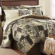 Sahara Complete Bed Set, Window Treatments and Pillow