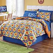 tie dye complete bed set
