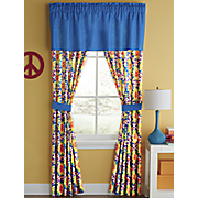 tie dye window treatments