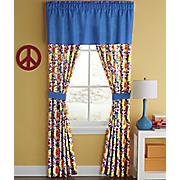 tie dye window treatments