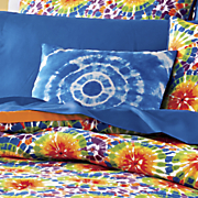 tie dye decorative pillow