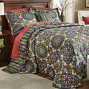 Manchester Bedspread, Decorative Pillow and Window Treatments