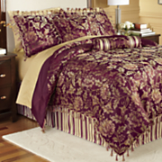 Primavera Jacquard Comforter Set, Pillows and Window Treatments