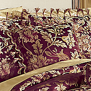 primavera jacquard square accent pillow