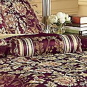 primavera jacquard neck roll pillow