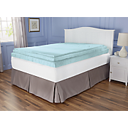 """Sleep Connection® 3.5"""" Viscose Memory Foam with Smooth Cooling Gel by Montgomery Ward"""