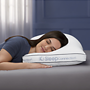sleep connection custom density pillow pair by montgomery ward