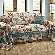 sienna furniture throw and pillow
