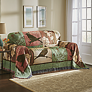autumn dance woven tapestry furniture throw