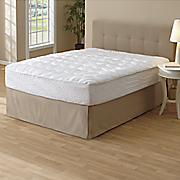 luxury high loft mattress pad by beautyrest