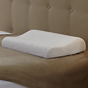 spa contour memory foam bed pillow by beautyrest