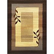 border leaf rug