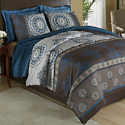 nia comforter set with free coverlet set and window treatments