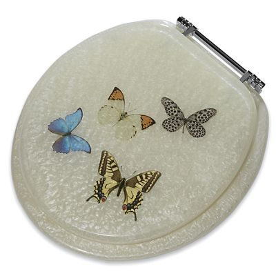 Butterfly Toilet Seat From Montgomery Ward Sw739372