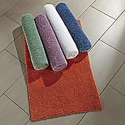 comfort creek 2 pc  microchenille bath mat set by montgomery ward