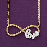 Infinity Love Necklace