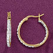 Large In/Out Hoop Earrings