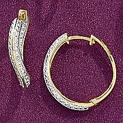 oval hoop earrings 17