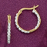 Small In/Out Hoop Earrings