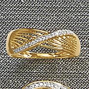 diamond swirl ring 225