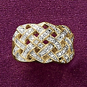 crisscross ring