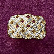 crisscross ring
