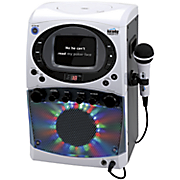 karaoke machine with light show