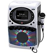 karaoke machine with light show
