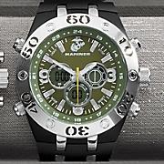 U.S. Marines Black Armor Wrist Watch