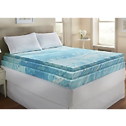 gel infused 3  foam mattress topper by sensorpedic