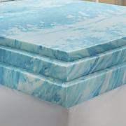 gel infused foam mattress topper by sensorpedic
