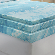 gel infused foam mattress topper by sensorpedic