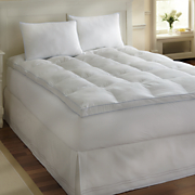 memory fiber mattress topper and pillow by sensorpedic