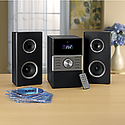 2 channel home music system by gpx